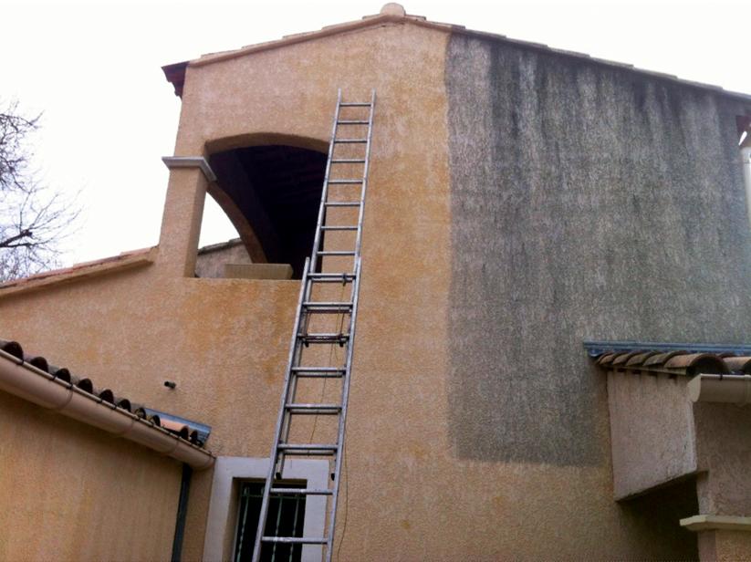 ravalement de façade à Frontignan et Sète
