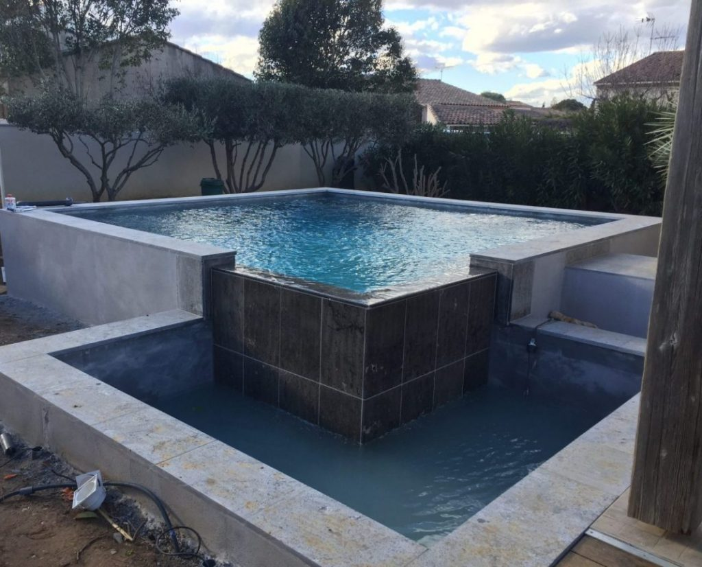 pose de piscine à Frontignan et Sète